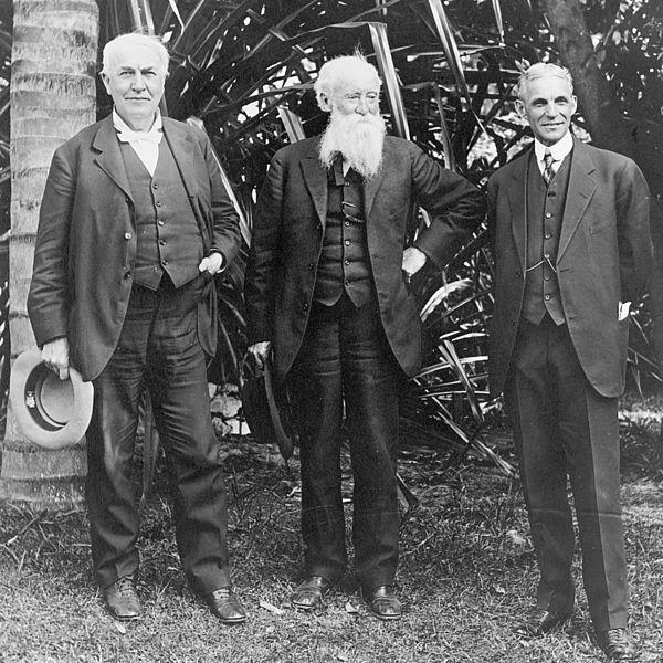Edison, Burroughs & Ford
