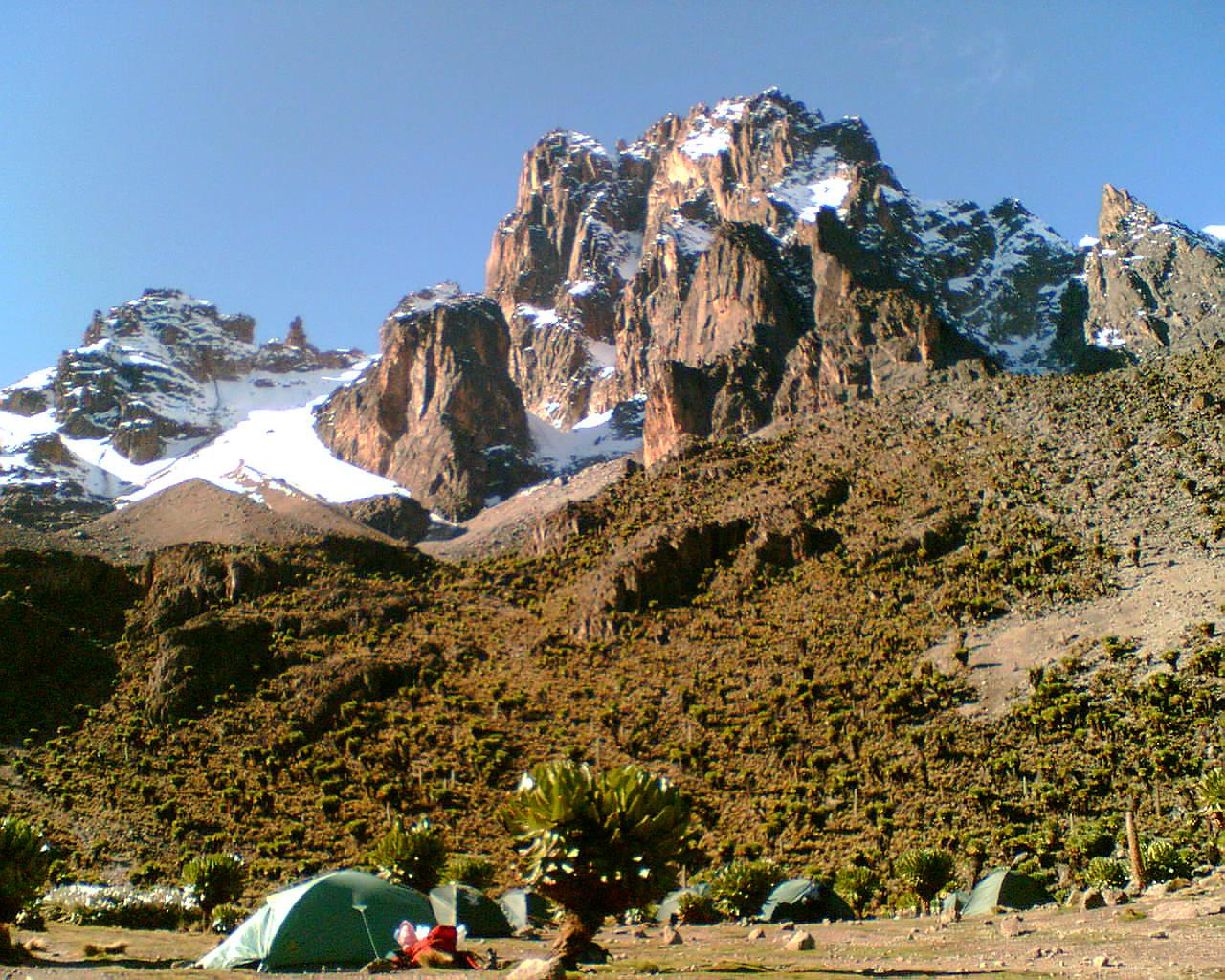 Mount Kenya - Richard Africa Mentor