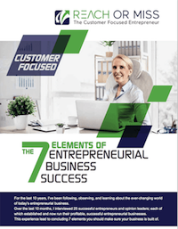 The 7 Elements of Entrepreneurial business Success Page