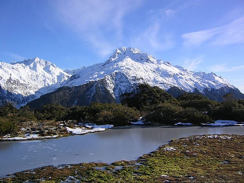 the Routeburn track New Zealand - Pams Mountain
