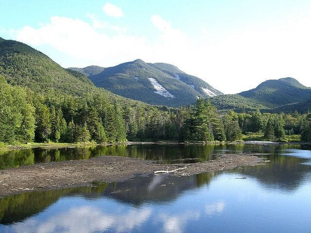 Adirondack State Park in upstate New York