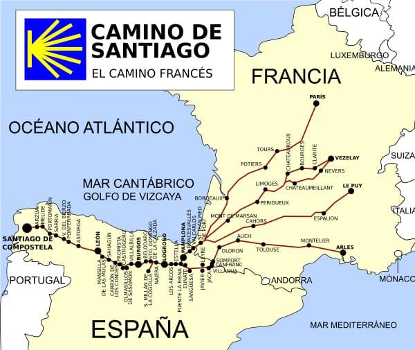 "<a href=""https://en.wikipedia.org/wiki/French_Way"" target=""_blank"" rel=""noopener"">Ruta del Camino de Santiago Frances</a>"