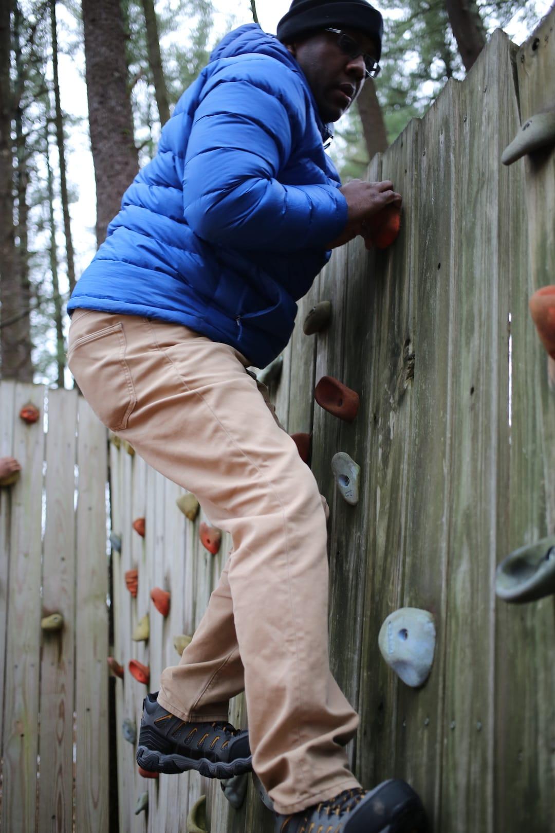 Ramon Ray - Rock Climbing