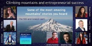 Climbing mountains and entrepreneurial success - The 5th and newest part