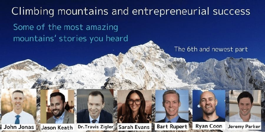 Climbing mountains and entrepreneurial success – The 6th and newest part