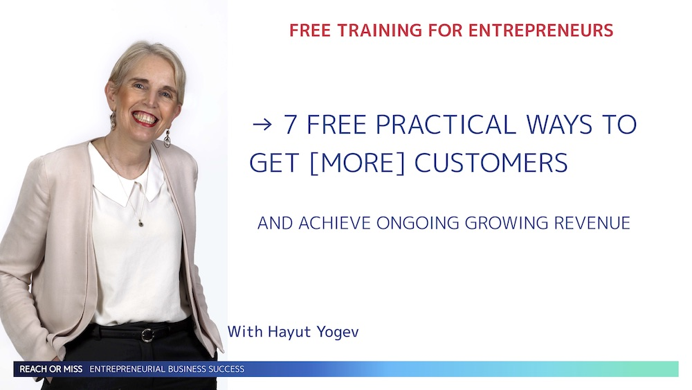 7 FREE practical ways to get more customers