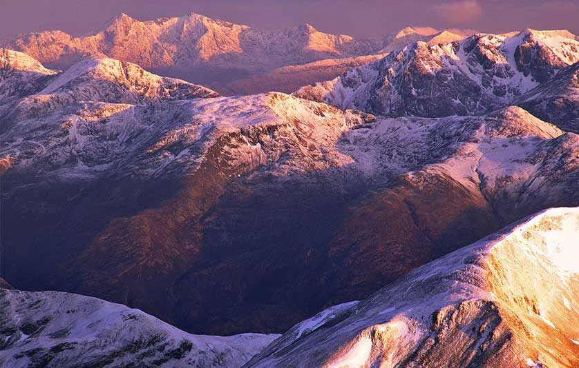 Mountains in the United Kingdom