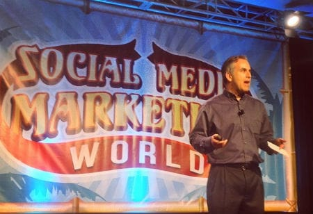Michael Stelzner at Social Media Marketing World 14