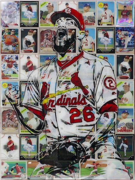 Bud Norris pop art portraits