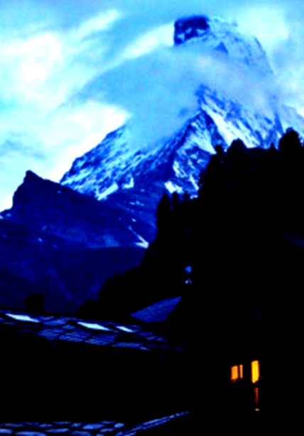 The Matterhorn from Zermatt Switzerland - Lance